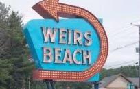 Weirs Beach Sign
